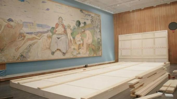 """新的蒙克博物馆开放在即:垂直建成,""""呐喊""""依然"""
